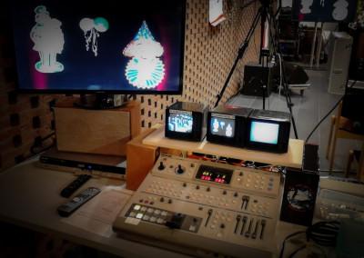 Unsere Videotechnik zur Karnevalssitzung 2014 im Krankenhaus Porz